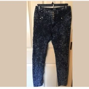 Celebrity Pink Skinny Jeans High Waisted Size 4